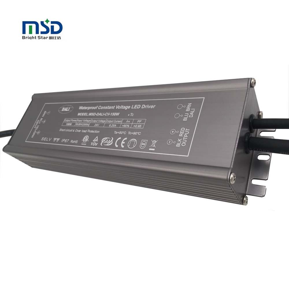 <span class=keywords><strong>IEC</strong></span> 62386 V2 версия открытый затемнения 150 Вт светодио дный 24VDC 6.25A dali светодиодный драйвер