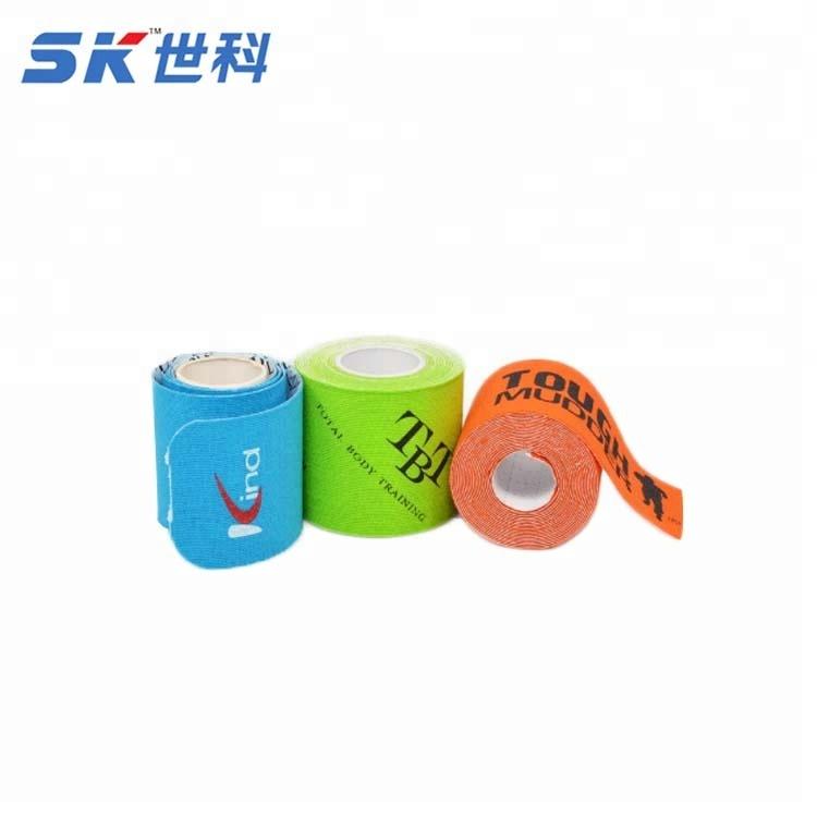 Логотип для спортивных товаров напечатан OEM кинезио лента CE FDA ISO13485 сертифицирован