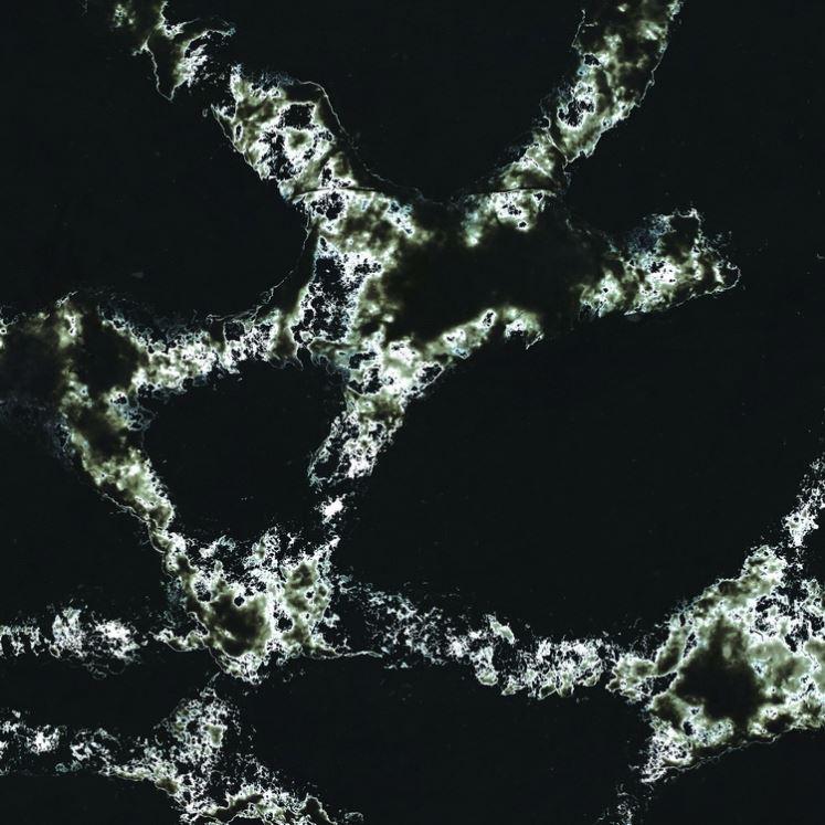 2 centimetri di Quarzo Pietra di Colore Marrone Scuro Lucido Artificiale
