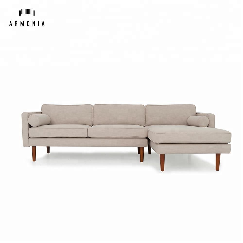 L förmigen ecke modedesign satz moderne schnitt stoff couch sofa