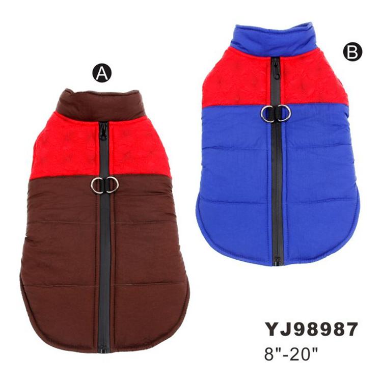 Warm Jacket Coat 겨울 Pet 개 옷 대 한 소 중 개 기계를 동물 음식을