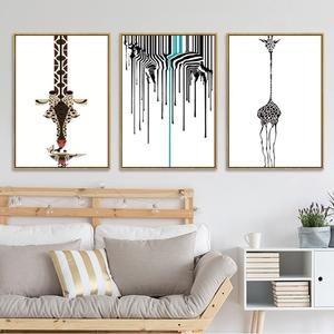 Atacado cristais de diamante pintura 5d DIY pintura da arte abstracta giraffe completo