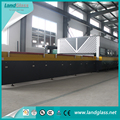 LandGlass Horizontal vidrio templado horno Solar vidrio templado equipo