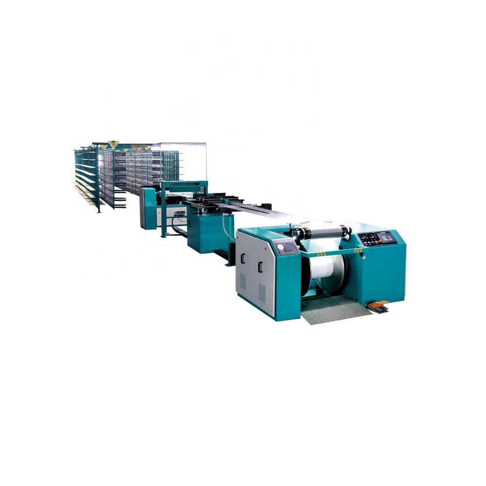 Máquina de entortar têxteis Novo design Máquina De Entortar Fios para Spandex 0 Garantido-600 m/min Seccional
