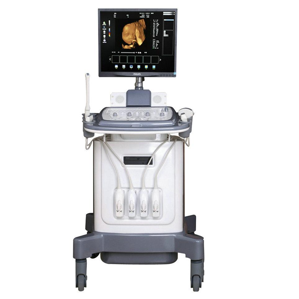 19 ''LCD trolley digitale schwangerschaft und gesundheit test maschinen doppler ultraschall scanner