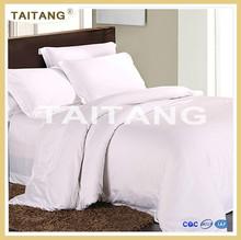 Mejor motel de venta por mayor ropa de cama blanca pura