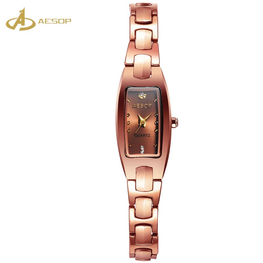 2019 ホット販売クォーツステンレスのため月光女性の女性の腕時計