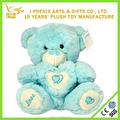 azul precioso mini oso de peluche de juguete
