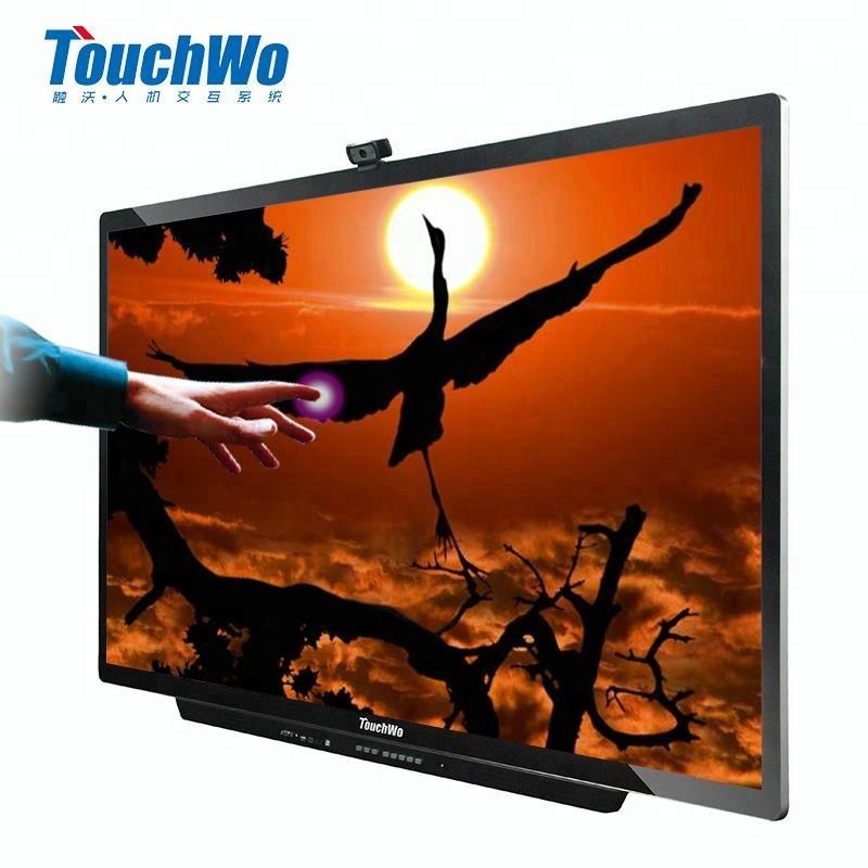 43 55 65 86インチ良い価格led hd 4 kタッチスクリーンモニター中国液晶インタラクティブフラットパネルオールインワンpcテレビ、広告掲載プレーヤー