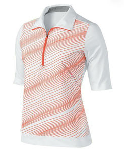 Sublimada dri fit camisas de golfe, camisa de golfe de secagem rápida, asiático roupas de golfe das senhoras