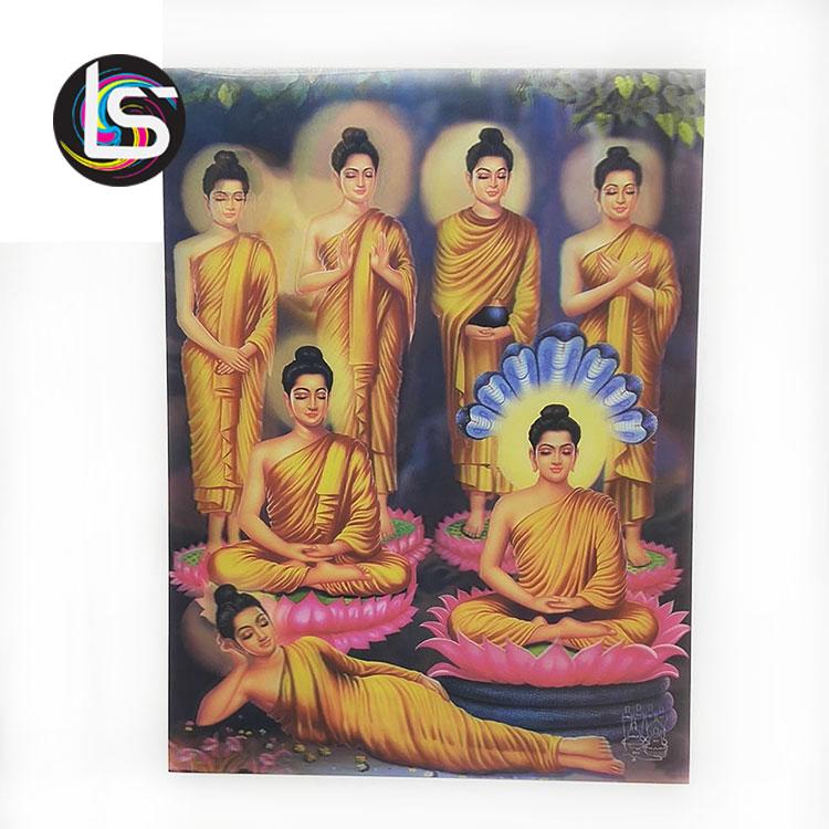 Cina all'ingrosso su ordinazione indù dio buddha immagine 3d