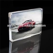 coche de acrílico de la foto marco a4 tamaño de marcos de fotos