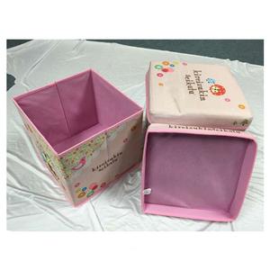 factory custom lagerung hocker kinder puppe aufbewahrungsbox für förderung
