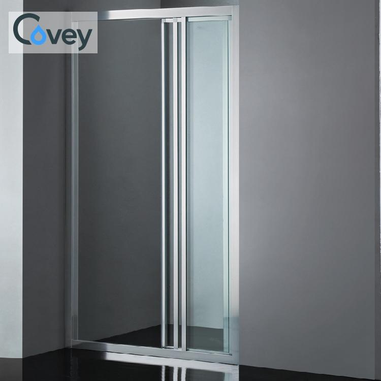 Adicional claramente 1 metro ducha pantalla flexible independiente de marco de aleación de aluminio oem cabina de ducha
