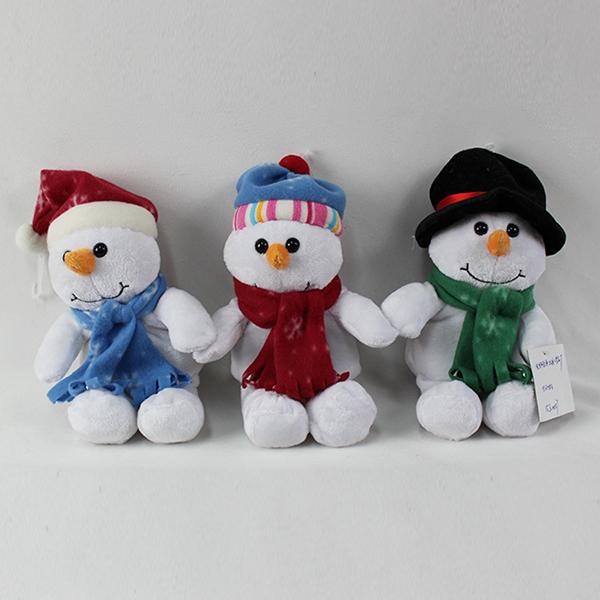 Kardan Hayvan Mekanik Peluş Singing Noel Oyuncaklar