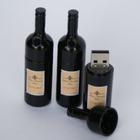 presente relativo à promoção garrafa de vinho usb stick