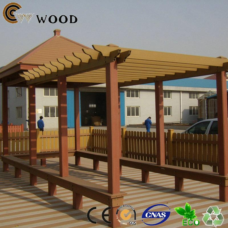 Madera decoraci n del jard n p rgola de madera al aire libre for Jardin al aire libre de madera deco