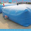 حجم مخصصة أفضل سعر PVC خزان ماء كبير ل 20000 قابلة للطي