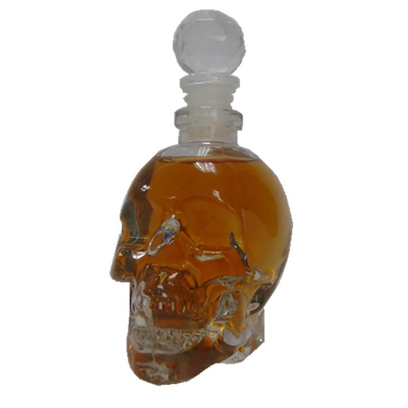350 ملليلتر السائل الجمجمة زجاجة ل الشاي الخمور النبيذ عصير العسل مع الفودكا ويسكي
