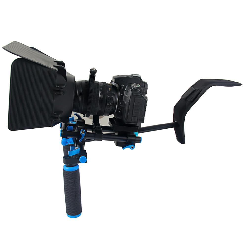 YELANGU 손잡이는 DSLR Rig D4 <span class=keywords><strong>어깨</strong></span> 실장 (smd, smt 휴대용 카메라 Bracket 대 한 카메라 슛을 쏘고