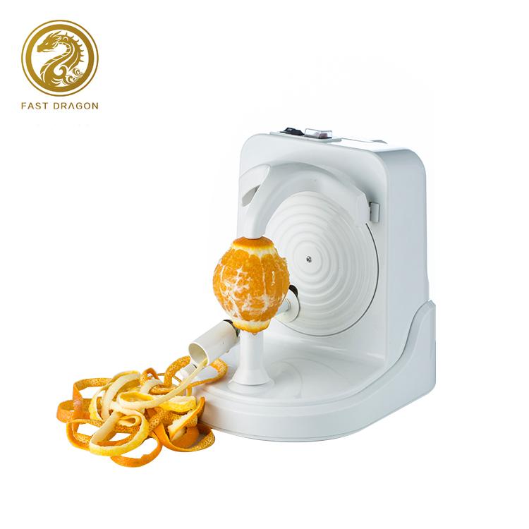 Mevcut otomatik meyve elma soyucu elektrikli portakal patates meyve soyucu makinesi elektrikli patates soyucu