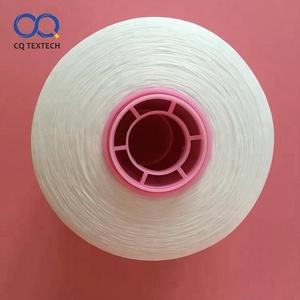 Etiket kırpıntıları için CQ En kaliteli 300D Twisted Polyester kırışık ipliği