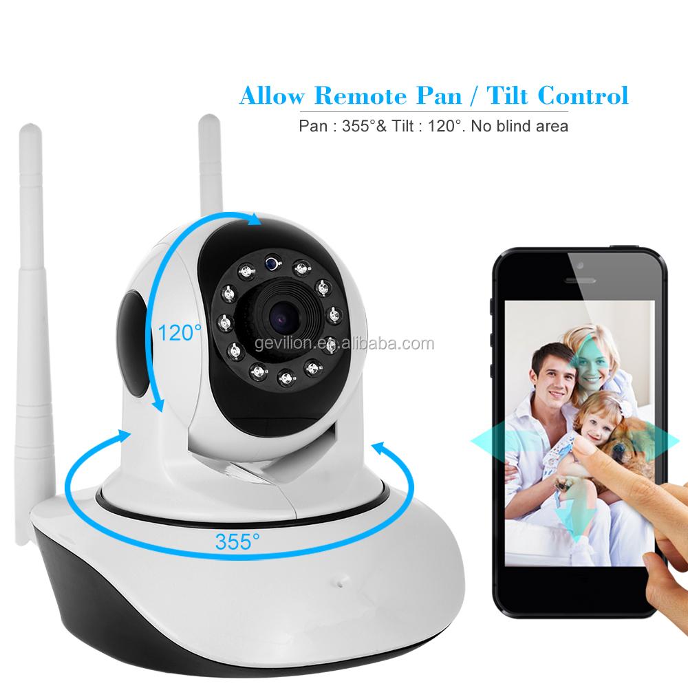 Toptan 360 Derece P2P Akıllı Taşınabilir Gsm Kamera Video bebek izleme monitörü Kablosuz wifi güvenlik kamerası