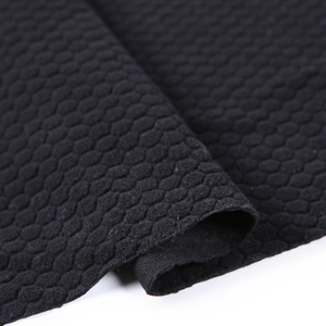 Chine tricot teint en fil jacquard couverture cochon tissu polaire solide noir