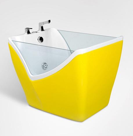 Belles perspectives différentes couleurs de haute qualité bébé spa baignoire pour bébé enfants baignoire