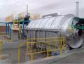 Automático completo sistema de uso de los residuos de pirólisis de neumáticos de aceite con la contaminación- libre- diseño