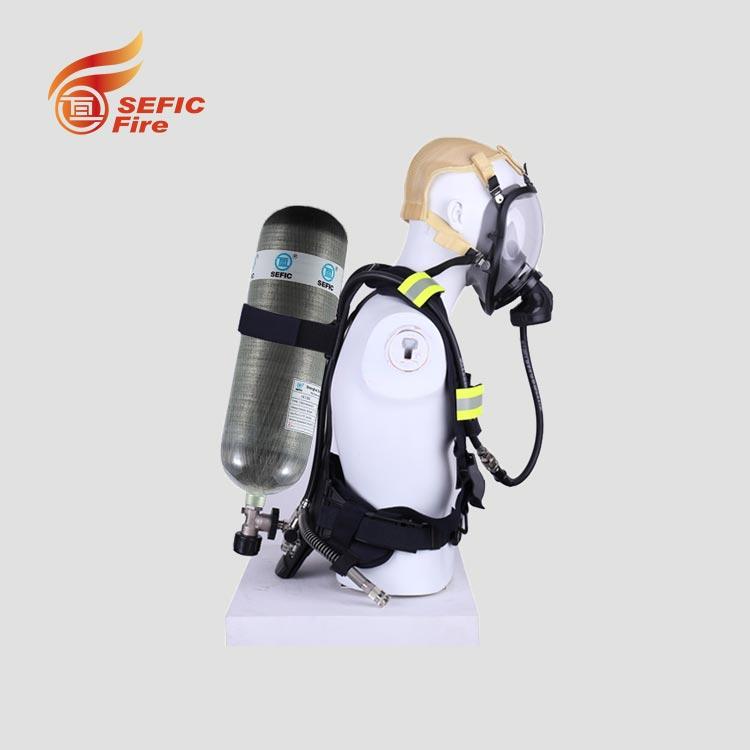 Пожарное оборудование Воздушный дыхательный аппарат углеродное волокно цилиндр для тушения