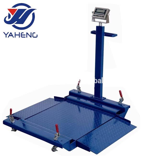 Cấu Hình thấp Nền Tảng có trọng lượng Quy Mô quy mô Sàn pallet sử dụng máy tính sử dụng xe tải vảy đối với bán xách tay cân