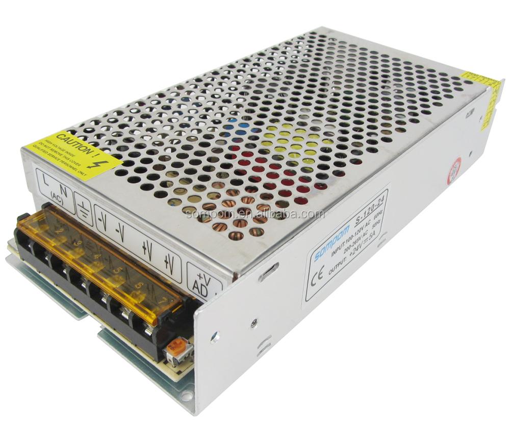 potencia de conmutación transformador de la fuente de alimentación 110 V 220 V AC a dc para la tira del LED luz de iluminación
