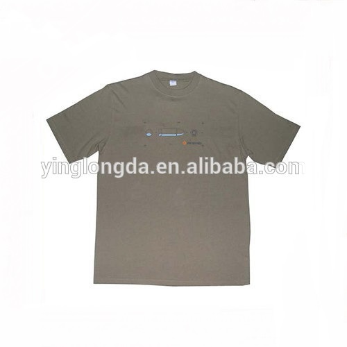 Alibaba China Venta caliente Iron Man Led t-shirt