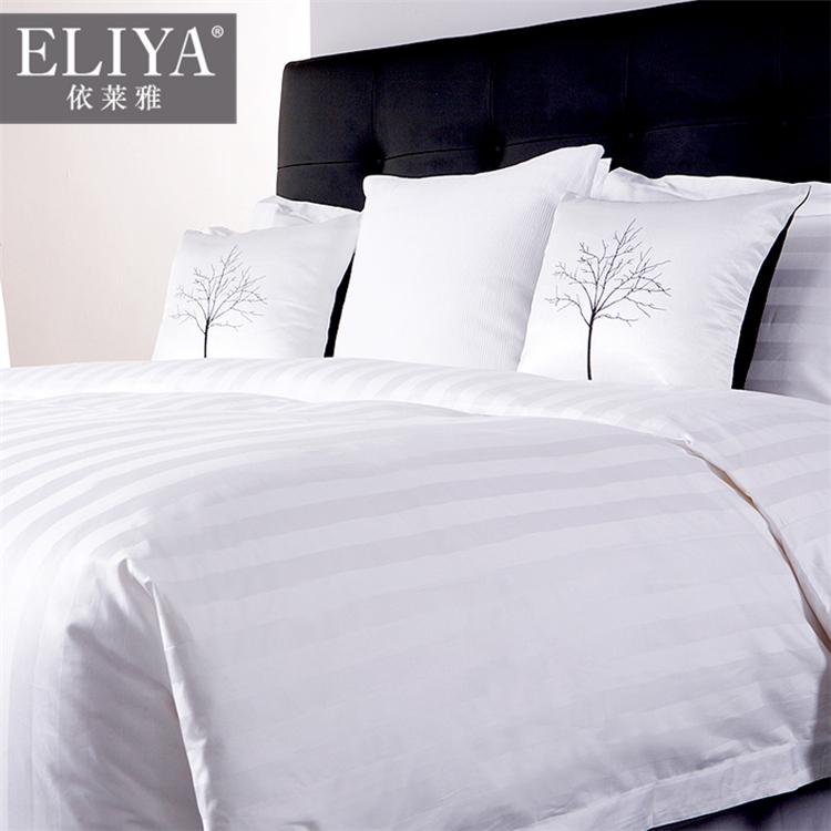 100 cotone 5 di marca stella hotel lenzuolo hotel di lusso ascensore 100% raso di cotone lenzuola