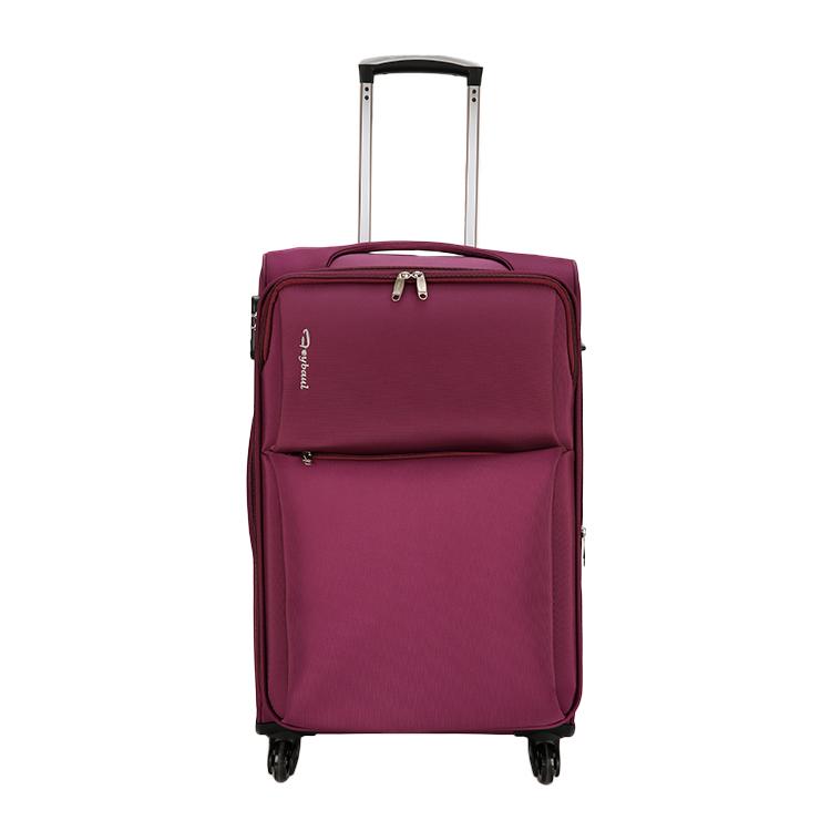 I viaggiatori Scelta Preferita Lampo Lato Morbido Vino Rosso Personalizzato A Buon Mercato borsa Da Viaggio Valigia Bagaglio