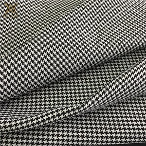 100% polyester houndstooth 실 염색 마원단을 대 한 lady