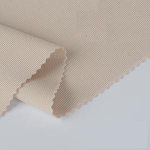 Solide teints 75d DTY double trame tricot pouf tissu extensible tube pour robe vêtements jupe
