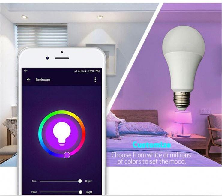 I Prodotti più Venduti 9 w 10 w 12 w Ha Condotto La Lampadina RGB + W + WW Lifx Lampadina Intelligente