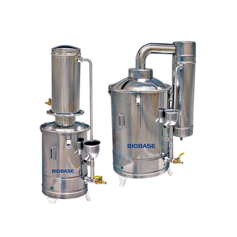 Biobase Nouveau Produit Électrique-chauffage Prix Distillateur D'eau Chaude pour Vente