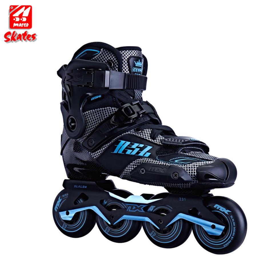 Hohe Rebound Geschwindigkeit Räder Roller Stiefel Abdeckung 4 Blinkende Versenkbare Blue Affe Inline Schuhe Einstellbar Einzigen Reihe Schlittschuhe