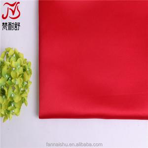 China têxtil por atacado fabricantes de cetim decoração de casamento tecido de cetim de poliéster barato