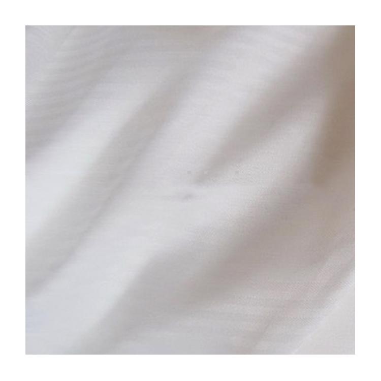 Drap/Couverture teinture vêtements plaine blanc satin polyester tissu