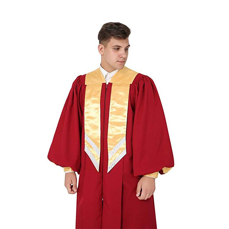 Оптовая продажа Профессиональный хорошо продать хор Крестильный, платье современный хор халаты, церковный хор халат/платье