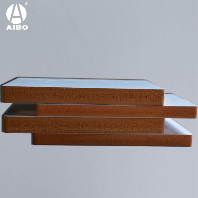 Bois Plastique Composite Panneau de Mousse 20 Mm Stratifié Pvc 3 Mm