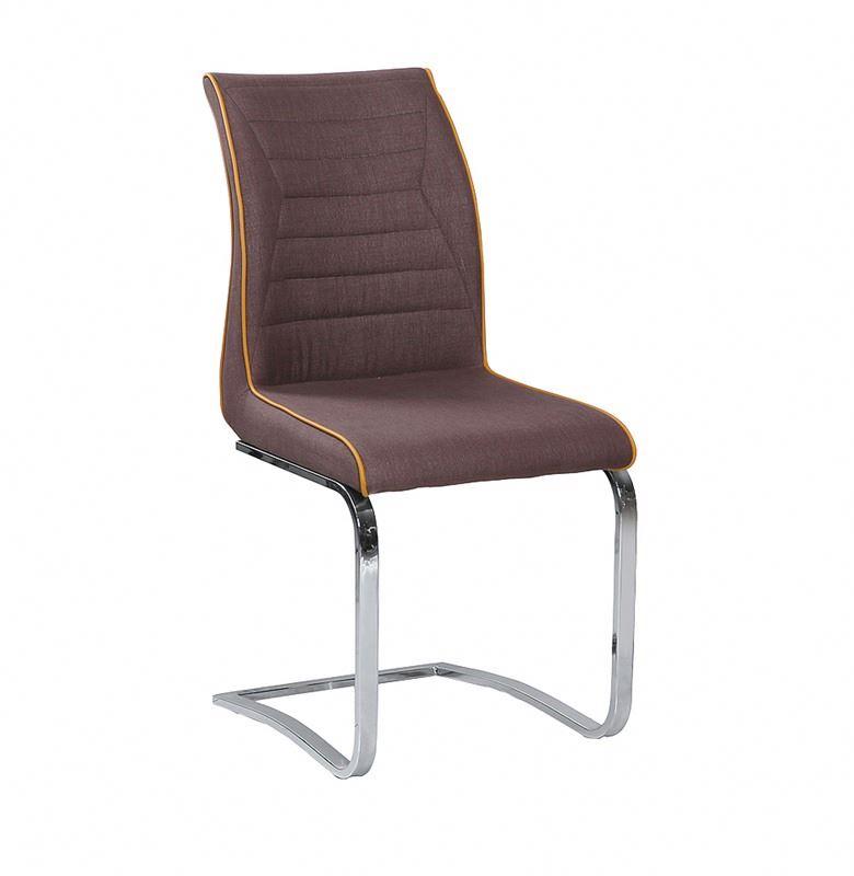 Высокое качество и дешевые металлические ПВХ оптом желтый кожаный стул