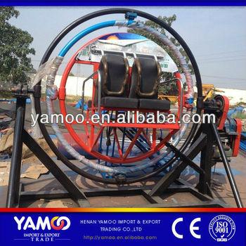 الصين الصانع 3d ماجيك الفضاء خاتم كرنفال الألعاب لعبة ركوب حديقة ملاهي الجيروسكوب الإنسان للبيع