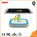 Wireless Qi Energía Cargador Pad