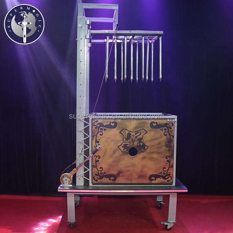B103 palco magia adereços de Alta qualidade A Melhor Cama de Picos de truques de magia fase