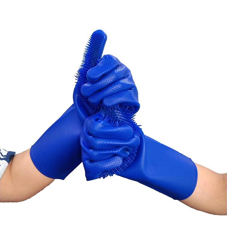 Silikon parmak koruyucu teflon polipropilen eldivenler fırın için mutfak eşyaları